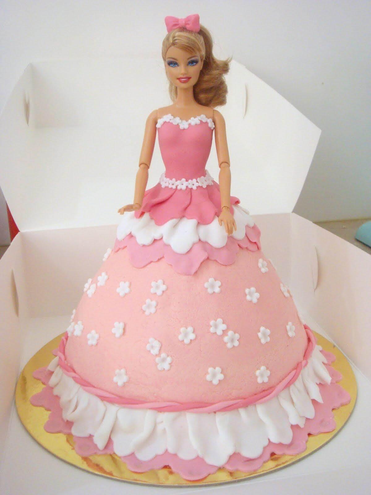 Barbie Cakes Design Cartoon