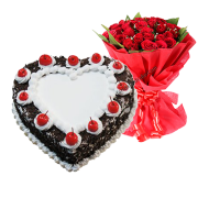 Black-forest-heart-cake