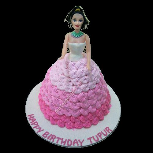 Barbie Doll Cake Monginis
