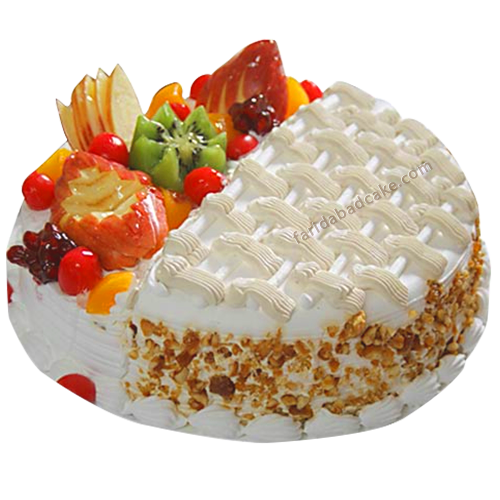 Fresh Fruit Cake-online cake delivery in faridabad