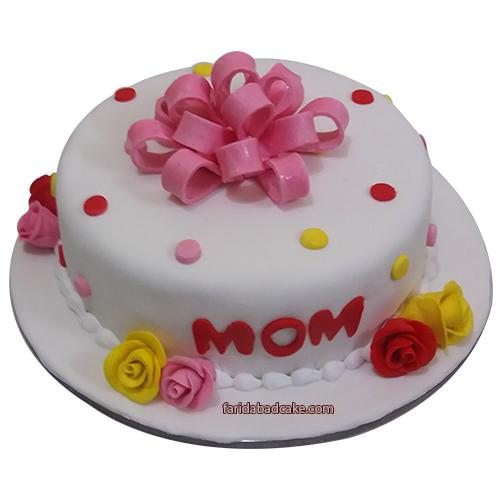 Cake for Mom Buy Birthday Cake Mom Designs Faridabadcake