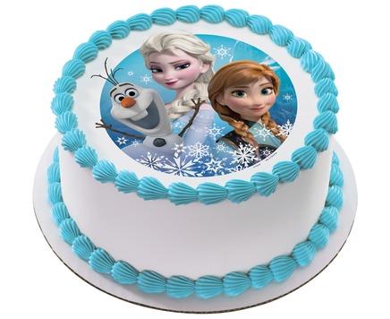 Chocolate Frozen Blueberry Cake