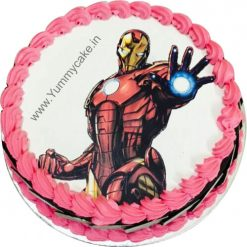 Iron Man cake, Iron Man Birthday Cake