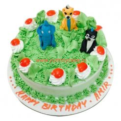 Jungle Book cake, Jungle Birthday Cake
