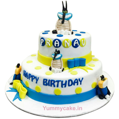Buy Minion Birthday Cake
