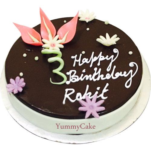 Eggless Birthday Cake Delivery In Delhi