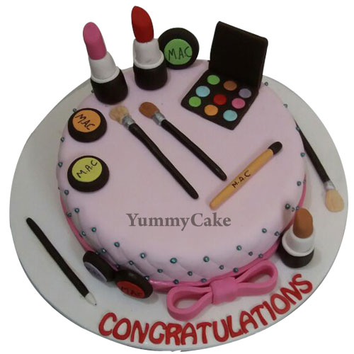 makeup birthday cake for girls in faridabad   faridabadcake