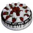 Strawberry Black Forest Cake