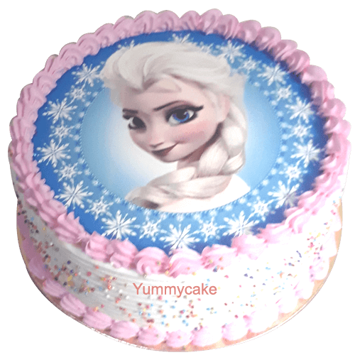 How To Make A Frozen Birthday Cake