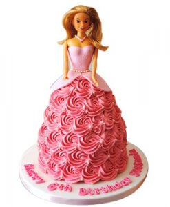 Barbie Cake Design