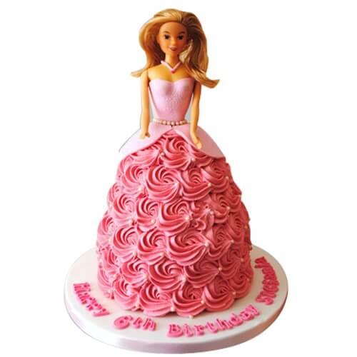 Barbie Cake Design