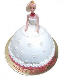Barbie Cakes Online