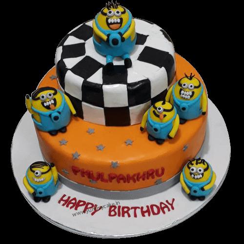 Minion Birthday Cake To Buy