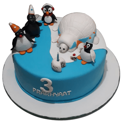 Happy birthday cake in faridabad birthday cake delivery in faridabad penguin cake sciox Choice Image