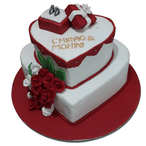Engagement Cakes Online Cake Designs Free Delivery