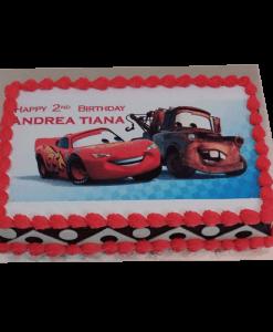 Mcqueen Car Cake