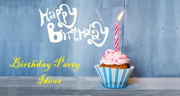 creative birthday party ideas