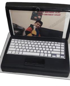 Laptop Theme Cake