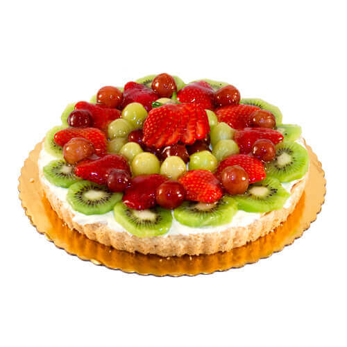fruit tart cake for birthday